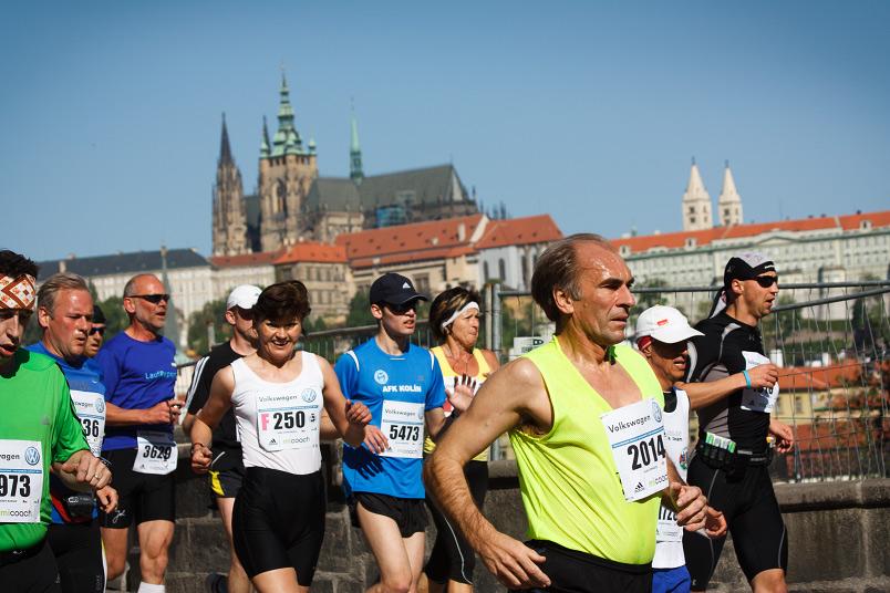 Pražský maraton foto